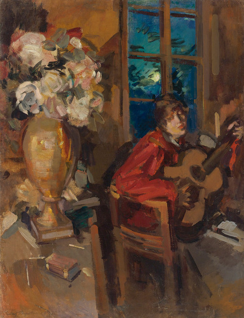 Art Prints of Evening Serenade by Konstantin Alexeevich Korovin