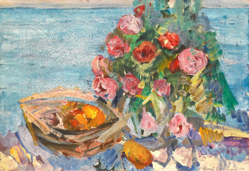 Art Prints of Gurzuf Still Life by Konstantin Alexeevich Korovin