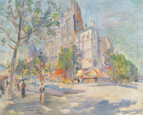 Art Prints of Paris in Spring by Konstantin Alexeevich Korovin