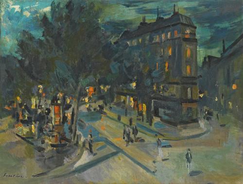 Art Prints of Paris at Night by Konstantin Alexeevich Korovin