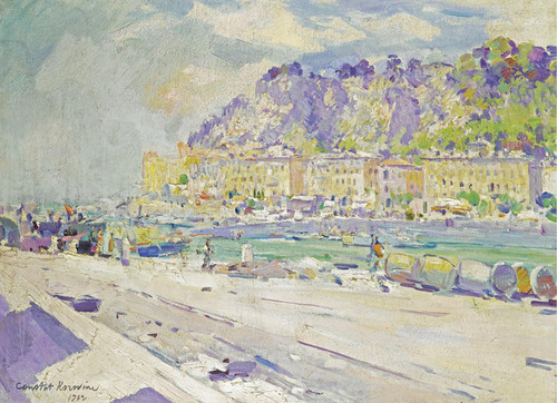 Art Prints of The South of France by Konstantin Alexeevich Korovin
