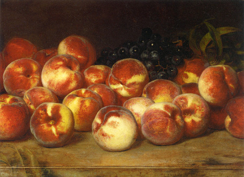 Art Prints of Peaches by Lemuel Everett Wilmarth