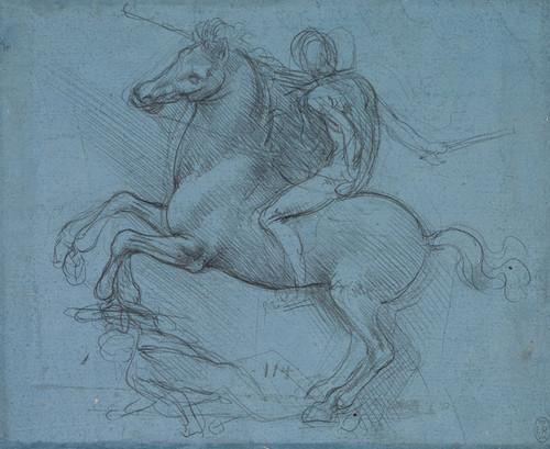 Art Prints of Study for an Equestrian Monument by Leonardo da Vinci