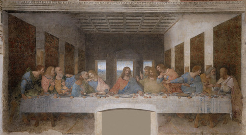 Art Prints of The Last Supper 1495-98 by Leonardo da Vinci