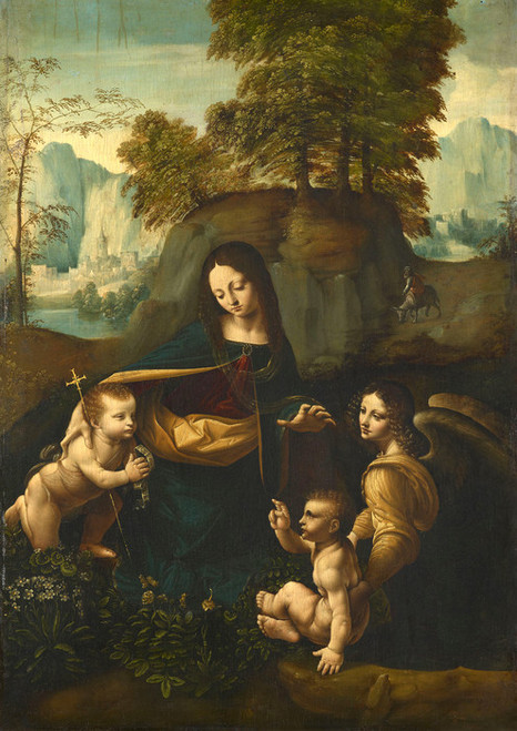 Art Prints of The Virgin of the Rocks by Leonardo da Vinci