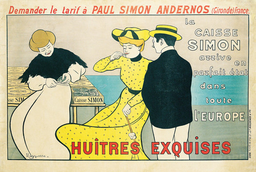 Art Prints of Huitres Exquises by Leonetto Cappiello