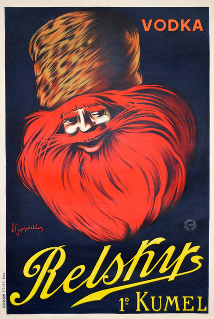 Art Prints of Vodka, Relsky Kumel by Leonetto Cappiello