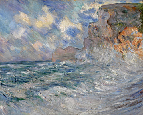 Art Prints of Cliffs at Etretat by Lilla Cabot Perry