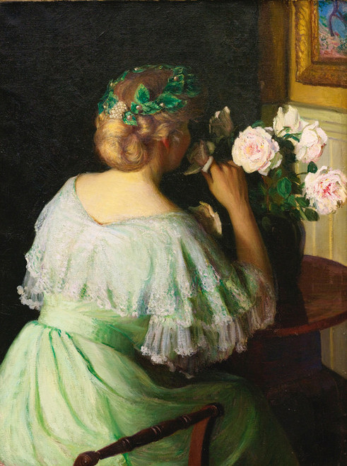 Art Prints of The Scent of Roses by Lilla Cabot Perry
