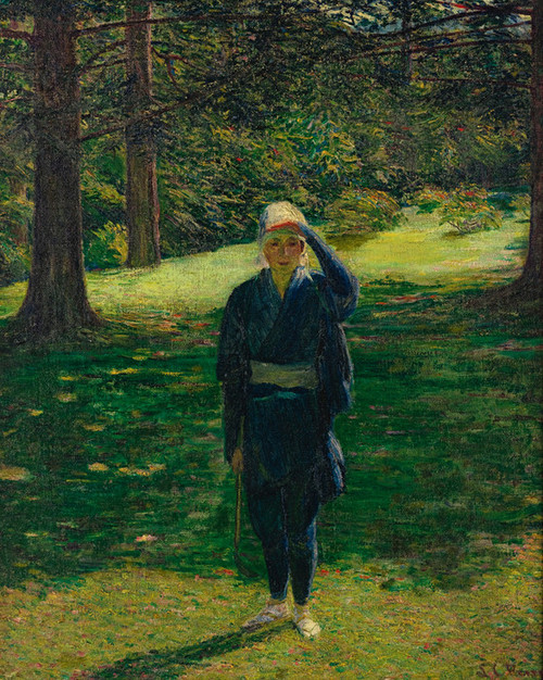 Art Prints of The Golfer by Lilla Cabot Perry