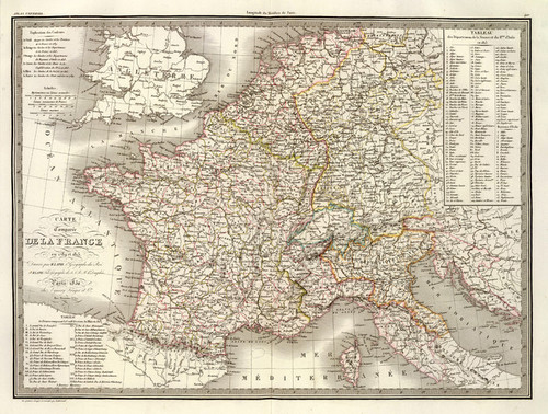 Art Prints of France, 1830 (2174021) by M. Pierre and Alexandre Emile Lapie