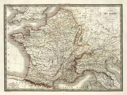 Art Prints of Gaules, 1831 (2174006) by M. Pierre and Alexandre Emile Lapie