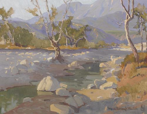 Art Prints of Arroyo Stream by Marion Kavanaugh Wachtel