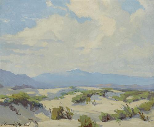 Art Prints of Desert Near Palm Springs by Marion Kavanaugh Wachtel