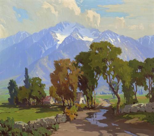 Art Prints of High Sierra from Owens Valley, California by Marion Kavanaugh Wachtel