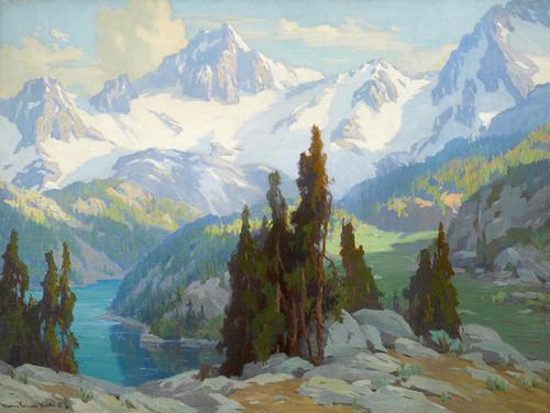 Art Prints of Mount Whitney by Marion Kavanaugh Wachtel