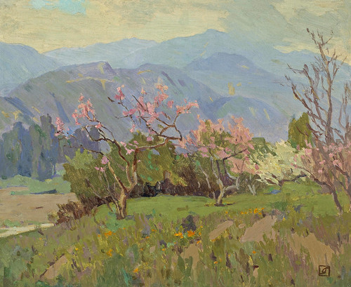 Art Prints of Spring Comes to the Valley by Marion Kavanaugh Wachtel