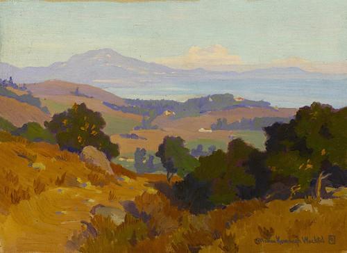 Art Prints of View Along the Santa Barbara Coast by Marion Kavanaugh Wachtel