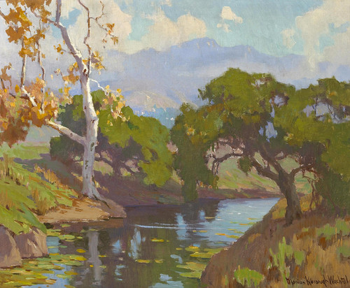 Art Prints of The Quiet Pool by Marion Kavanaugh Wachtel