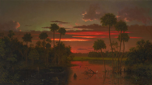 Art Prints of The Great Florida Sunset by Martin Johnson Heade