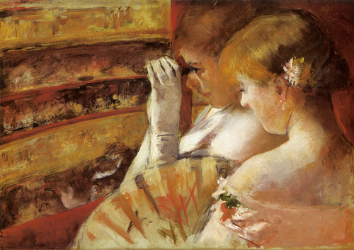 Art Prints of In the Box by Mary Cassatt
