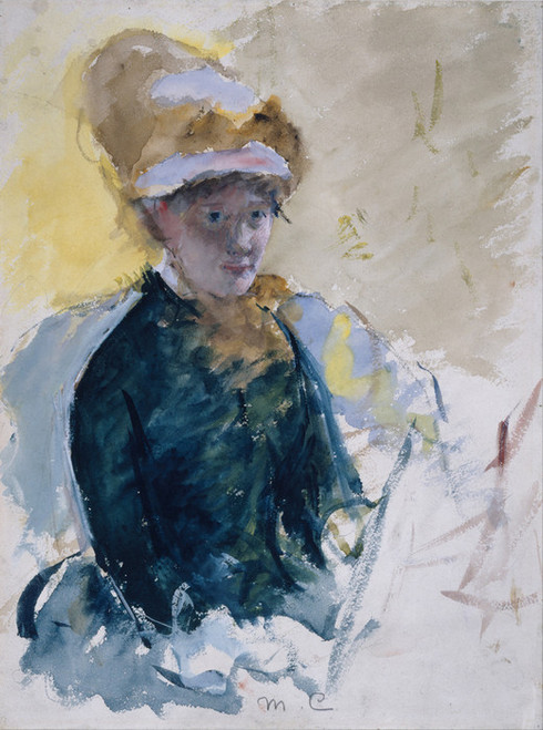 Art Prints of Mary Cassatt, Self Portrait by Mary Cassatt