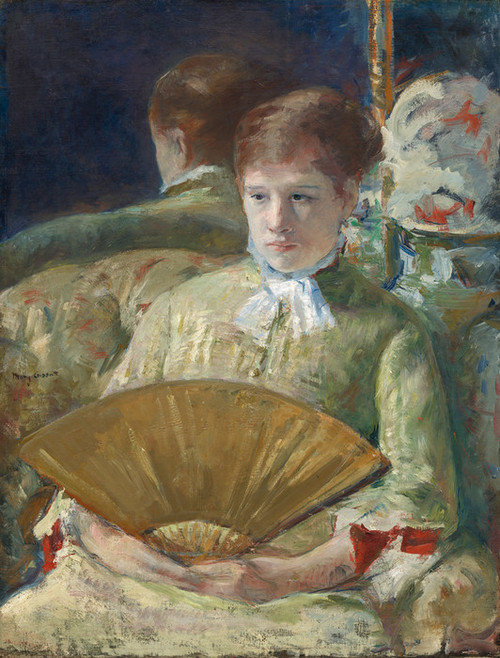 Art Prints of Miss Mary Ellison by Mary Cassatt