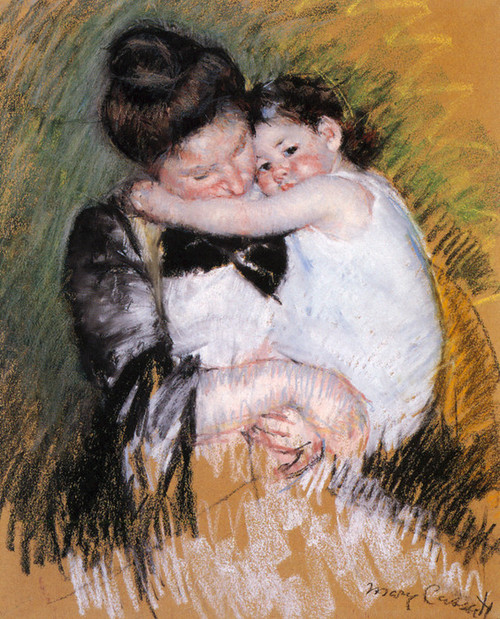 Art Prints of Mother and Child by Mary Cassatt