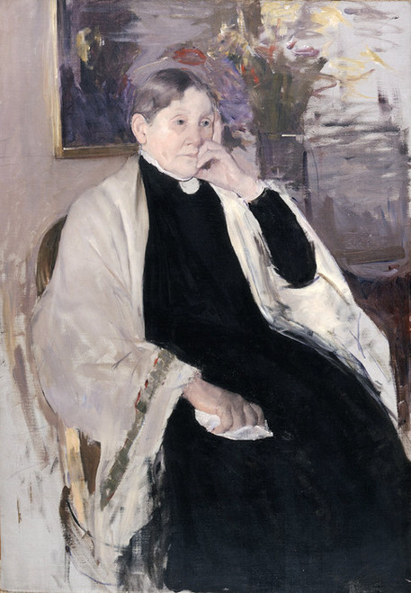 Art Prints of Mrs. Robert S. Cassatt, the Artist's Mother by Mary Cassatt