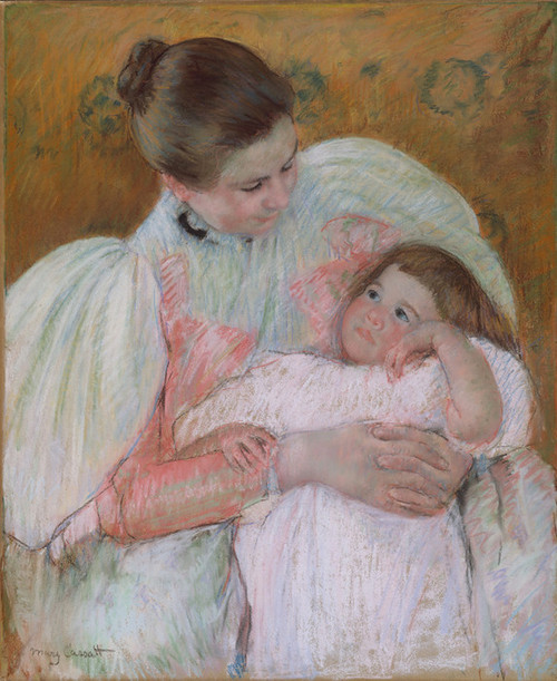 Art Prints of Nurse and Child, 1896 by Mary Cassatt