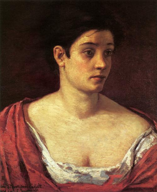 Art Prints of Portrait of a Woman by Mary Cassatt
