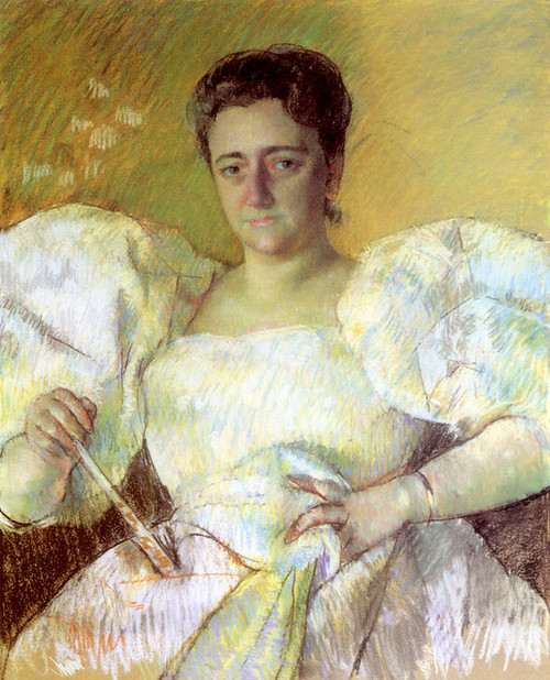 Art Prints of Portrait of Mrs. H. O. Havemeyer by Mary Cassatt