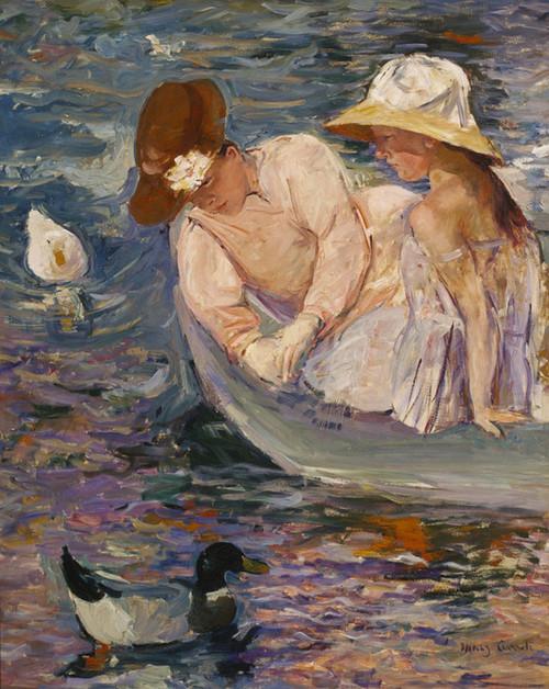Art Prints of Summertime by Mary Cassatt
