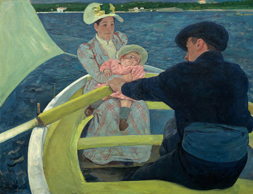 Art Prints of The Boating Party by Mary Cassatt