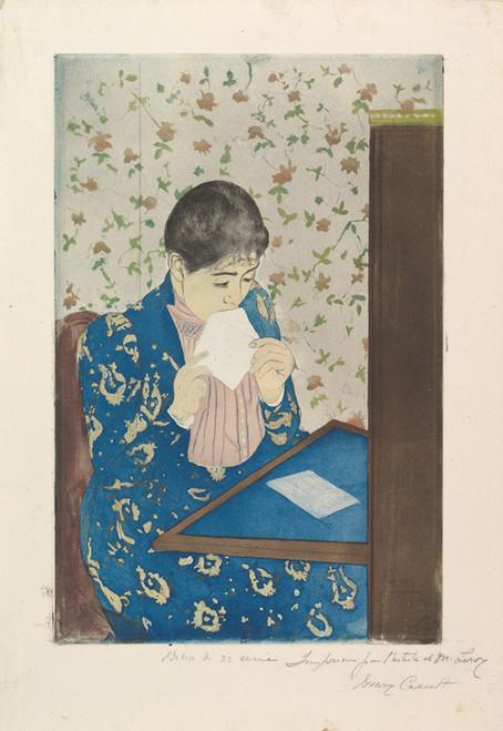 Art Prints of The Letter by Mary Cassatt