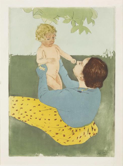 Art Prints of Under the Horse Chestnut Tree, No. 2 by Mary Cassatt