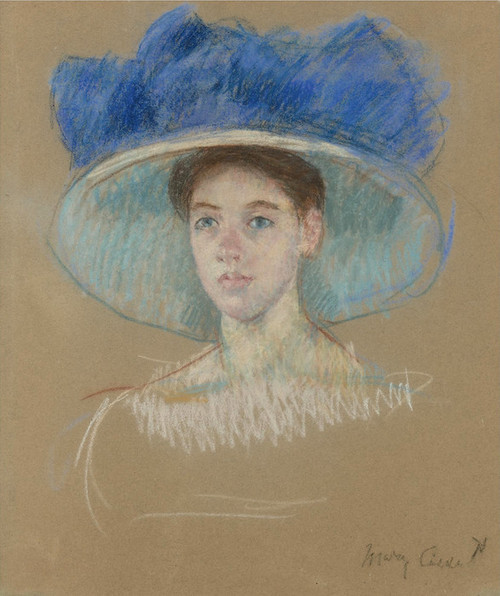 Art Prints of Woman in a Grand Hat by Mary Cassatt