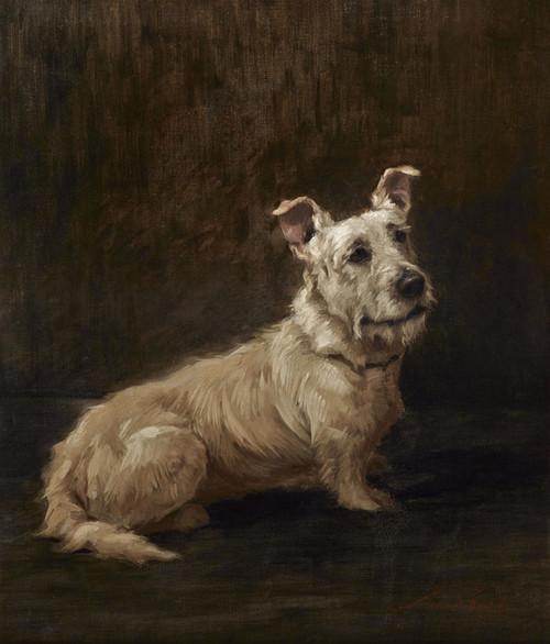 Art Prints of Skye Terrier by Maud Earl