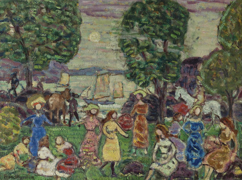 Art Prints of Crepuscule or Dusk by Maurice Prendergast