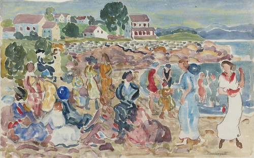 Art Prints of Holiday by Maurice Prendergast