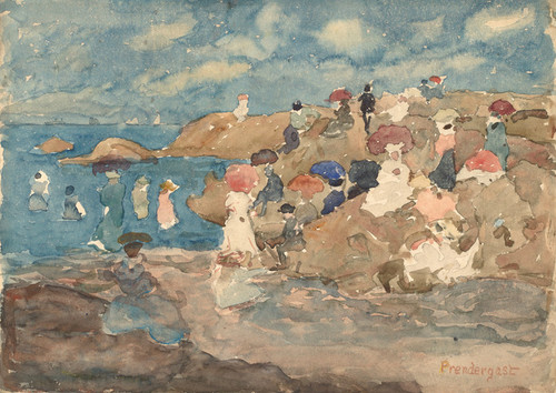 Art Prints of Revere Beach by Maurice Prendergast