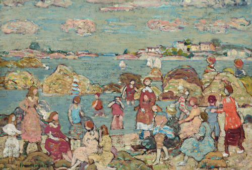 Art Prints of Seashore by Maurice Prendergast
