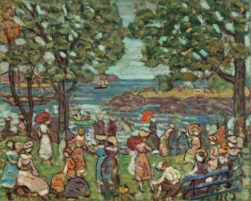 Art Prints of Salem Cove by Maurice Prendergast