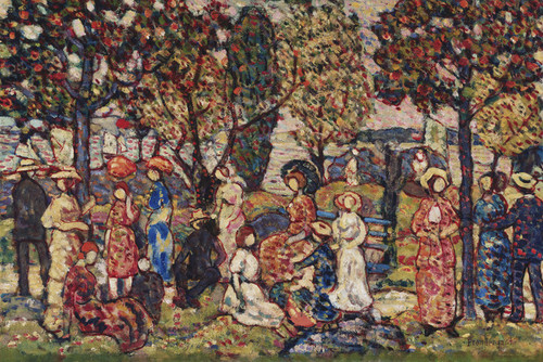 Art Prints of Autumn by Maurice Prendergast