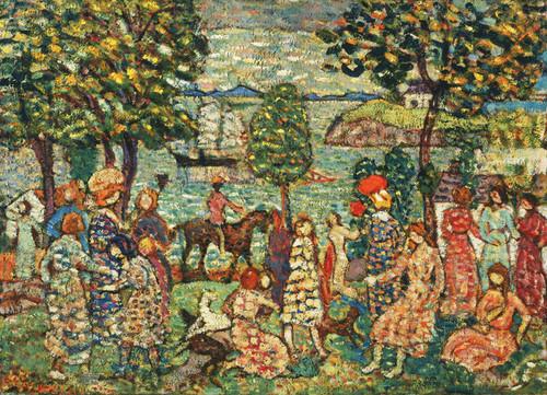 Art Prints of Fantasy by Maurice Prendergast