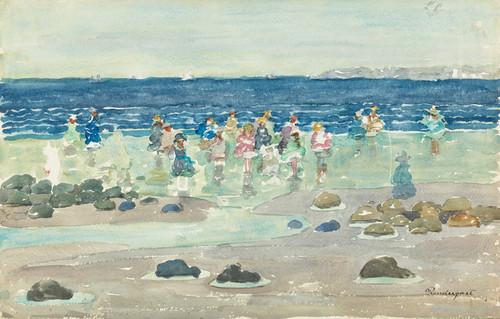 Art Prints of Low Tide by Maurice Prendergast