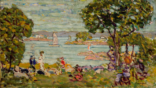 Art Prints of Maine by Maurice Prendergast
