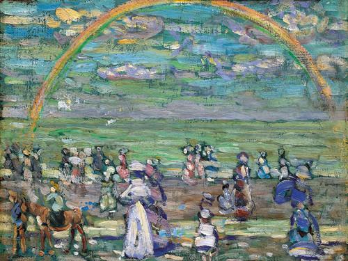 Art Prints of Rainbow by Maurice Prendergast