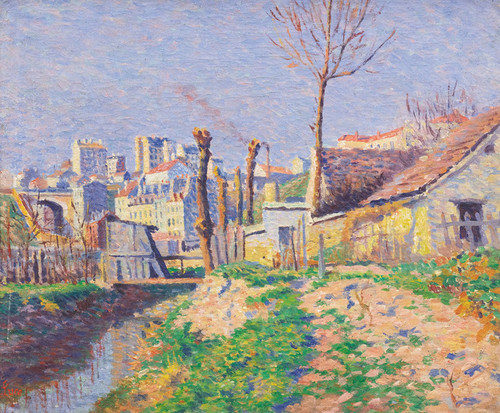 Art Prints of Bieure, Paris by Maximilien Luce