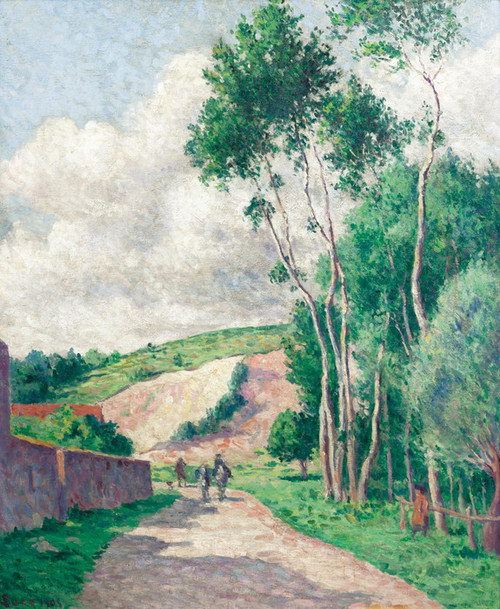 Art Prints of Chalo-Saint-Mars, Quarry of Beaumont by Maximilien Luce
